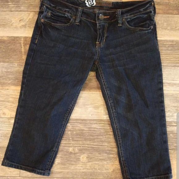 Bullhead Pants - Denim Capris
